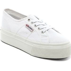 BRAND NEW, NEVER WORN Superga  Platform Sneakers